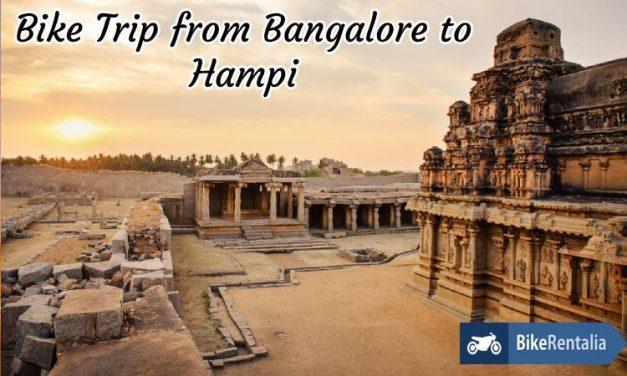 Bike Trip From Bangalore to Hampi