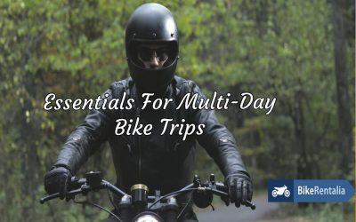 Essentials For Multi-Day Bike Trips