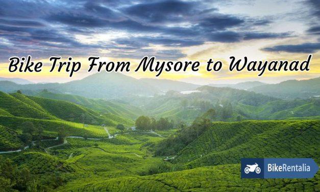 Bike Trip from Mysore to Wayanad