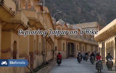 Exploring Jaipur On A Bike