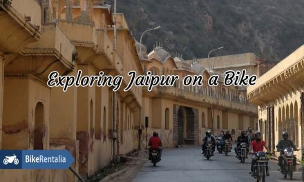 Exploring Jaipur On A Bike