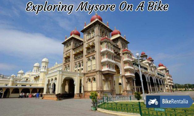 Exploring Mysore On A Bike