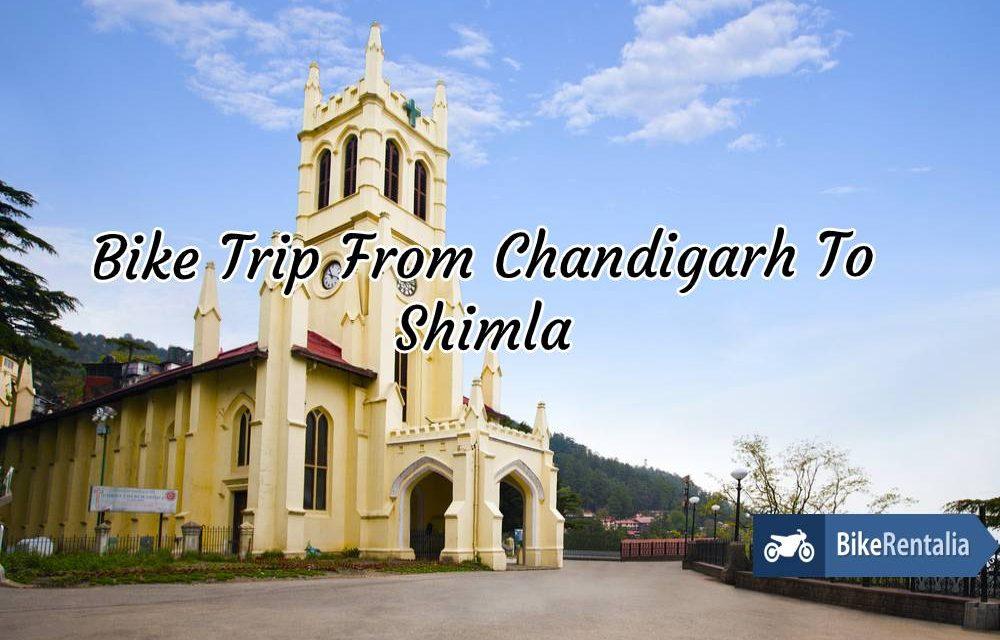 Bike Trip From Chandigarh To Shimla