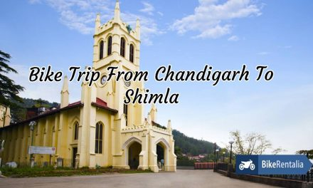 Bike Trip From Chandigarh To Shimla