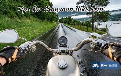 5 Tips for Monsoon Bike Trip