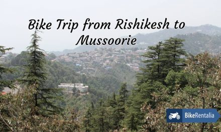 Bike Trip From Rishikesh To Mussoorie