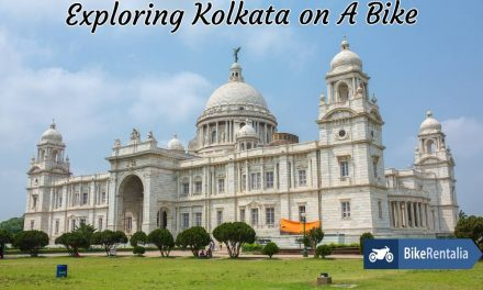 Exploring Kolkata On A Bike