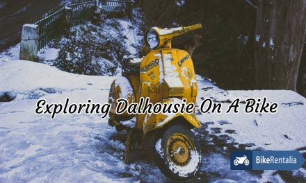 Exploring Dalhousie On A Bike