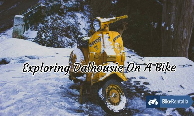Exploring Dalhousie On A Bike