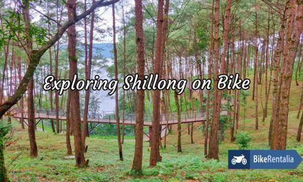 Exploring Shillong on Bike