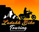 ladakh bike touring - bike on rent